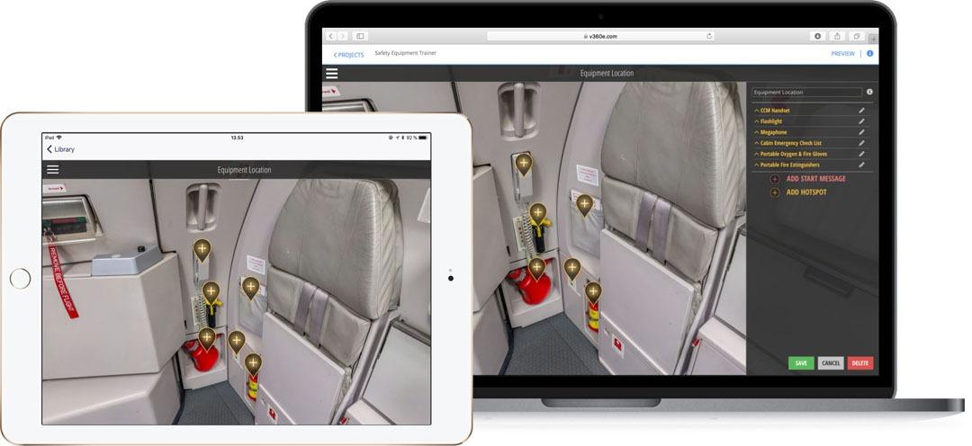 SAFETY EQUIPMENT TRAINER | Virtual 360 Editor