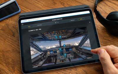SunClass uses V360E to train pilots on the ground