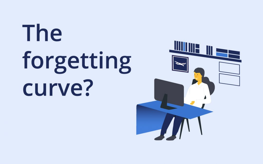 How to combat 'the forgetting curve' in staff training