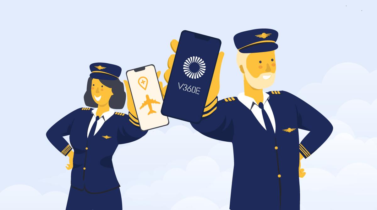 Virtual training in aviation